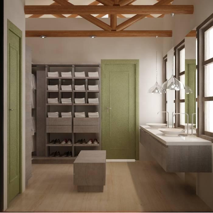 ESTUDIO DUSSAN Eclectic style bathroom