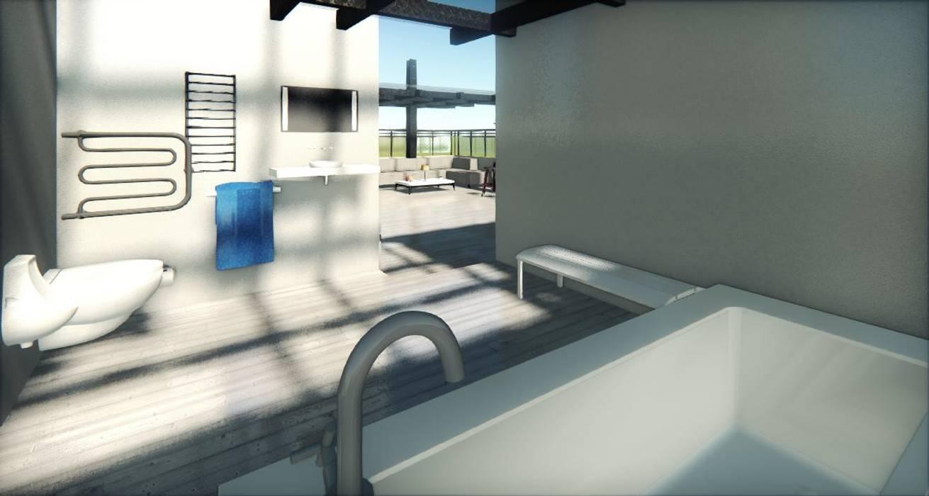 Prueba Render Int Jauzzi Terraza Cdmx Balcones Y Terrazas