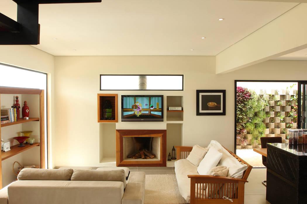 Taguá Arquitetura Living room