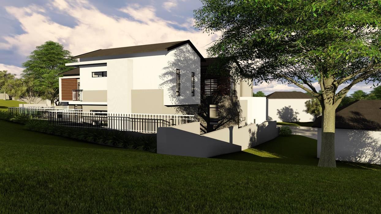 Casas de estilo moderno de Ellipsis Architecture Moderno
