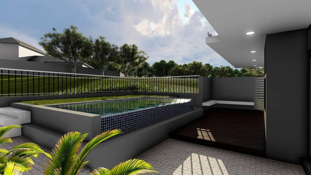 Piscinas de estilo moderno de Ellipsis Architecture Moderno