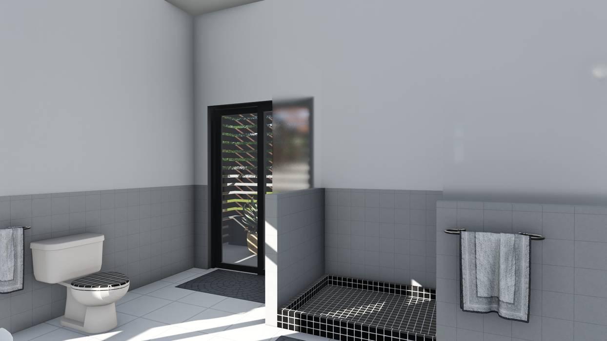 Baños de estilo moderno de Ellipsis Architecture Moderno