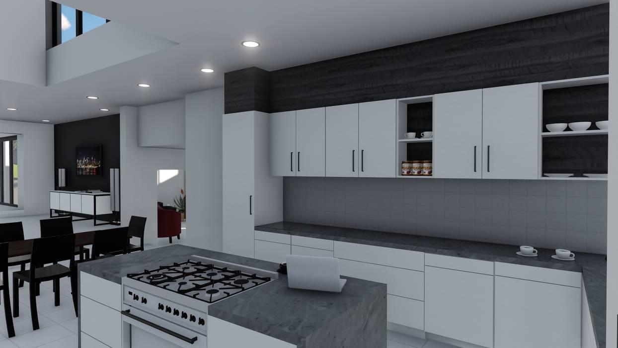 Cocinas de estilo moderno de Ellipsis Architecture Moderno