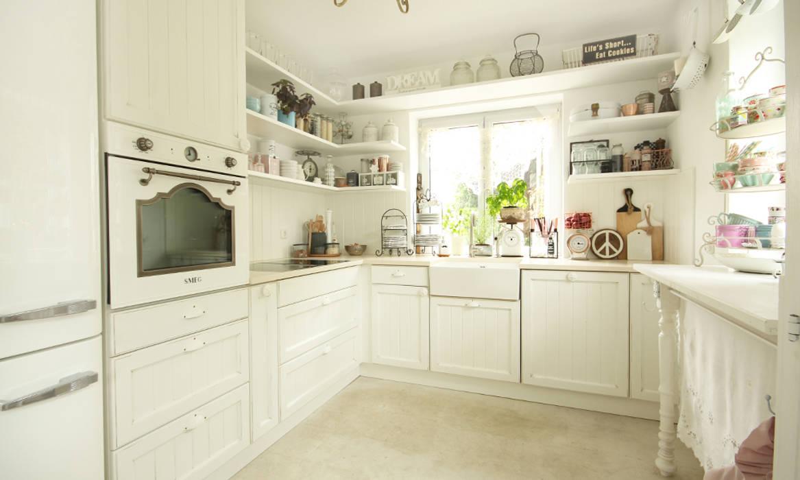 Shabby chic landhausküche: küche von beer gmbh | homify