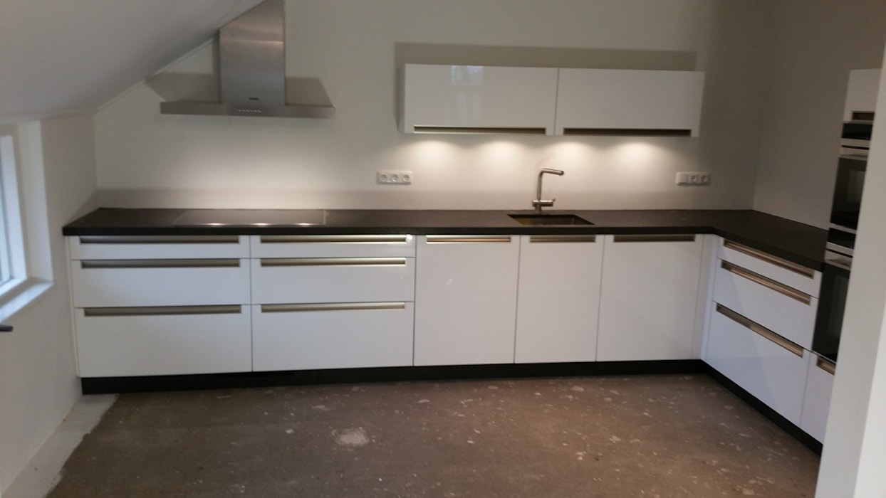 Moderne Greeploze Keuken : Moderne greeploze keuken moderne keuken door de lange keukens