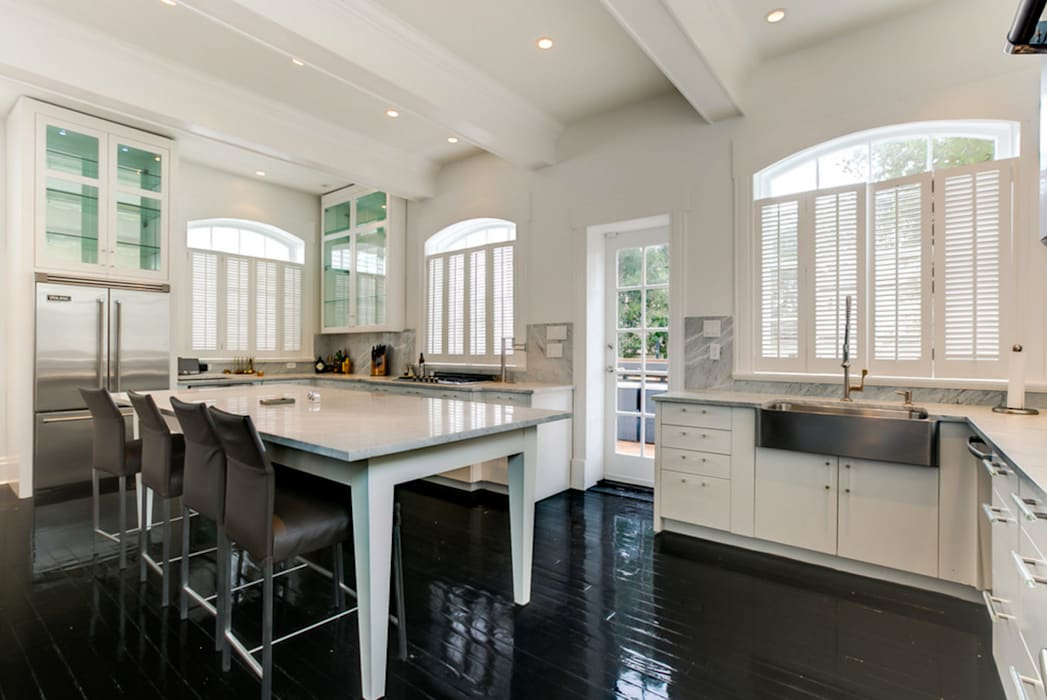 Nashville Avenue Residence, New Orleans:  Kitchen by studioWTA