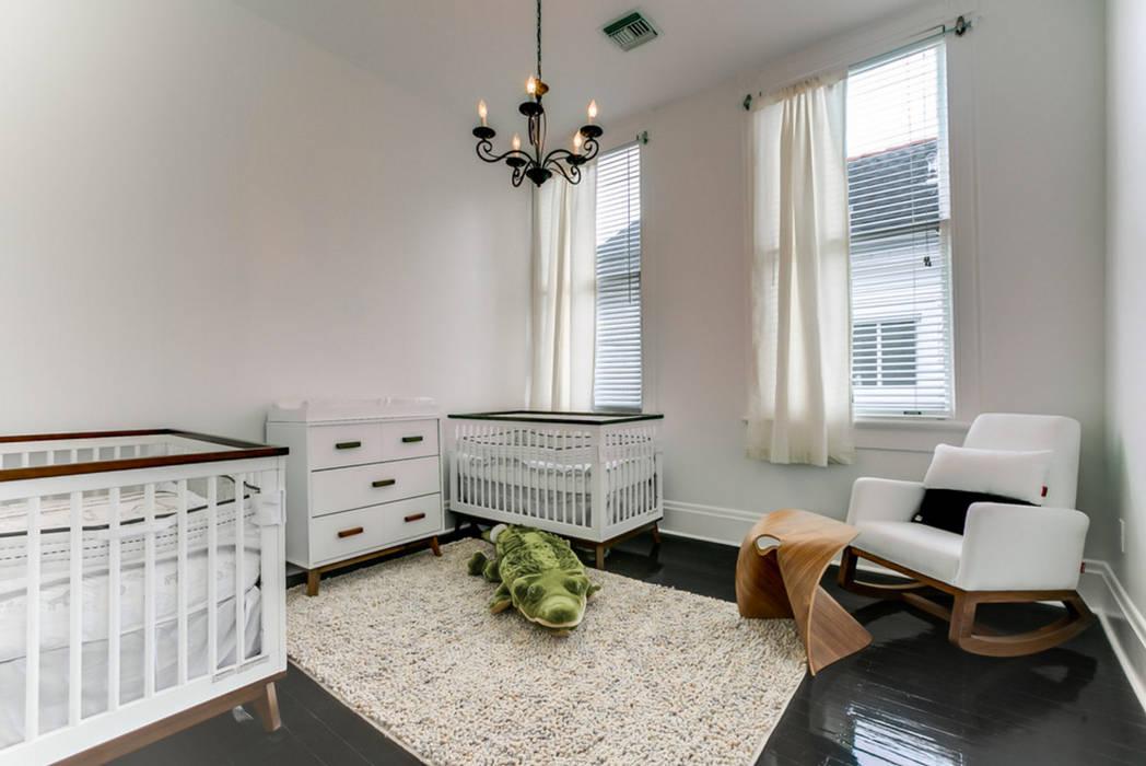 Nashville Avenue Residence, New Orleans:  Nursery/kid's room by studioWTA