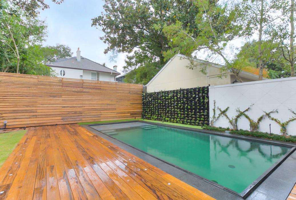 Nashville Avenue Residence, New Orleans:  Pool by studioWTA