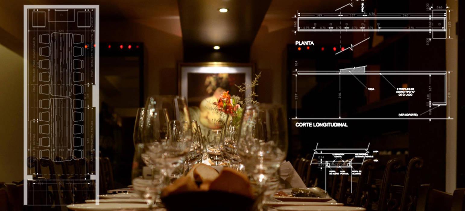VINOTECA Gastronomía de estilo moderno de Estudio Bono-Sanmartino Moderno