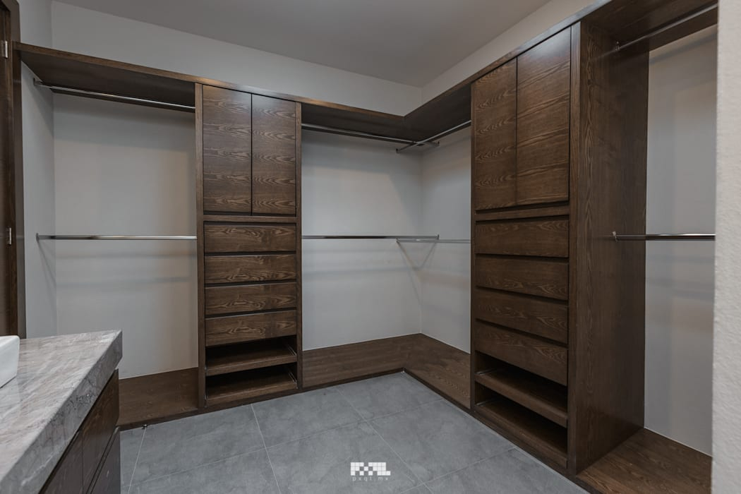 Dressing room by 2M Arquitectura,
