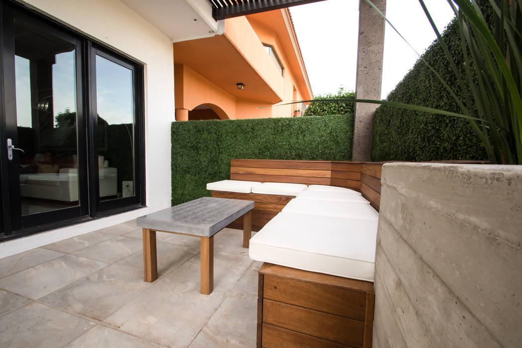 Terrasse de style  par TAMEN arquitectura,