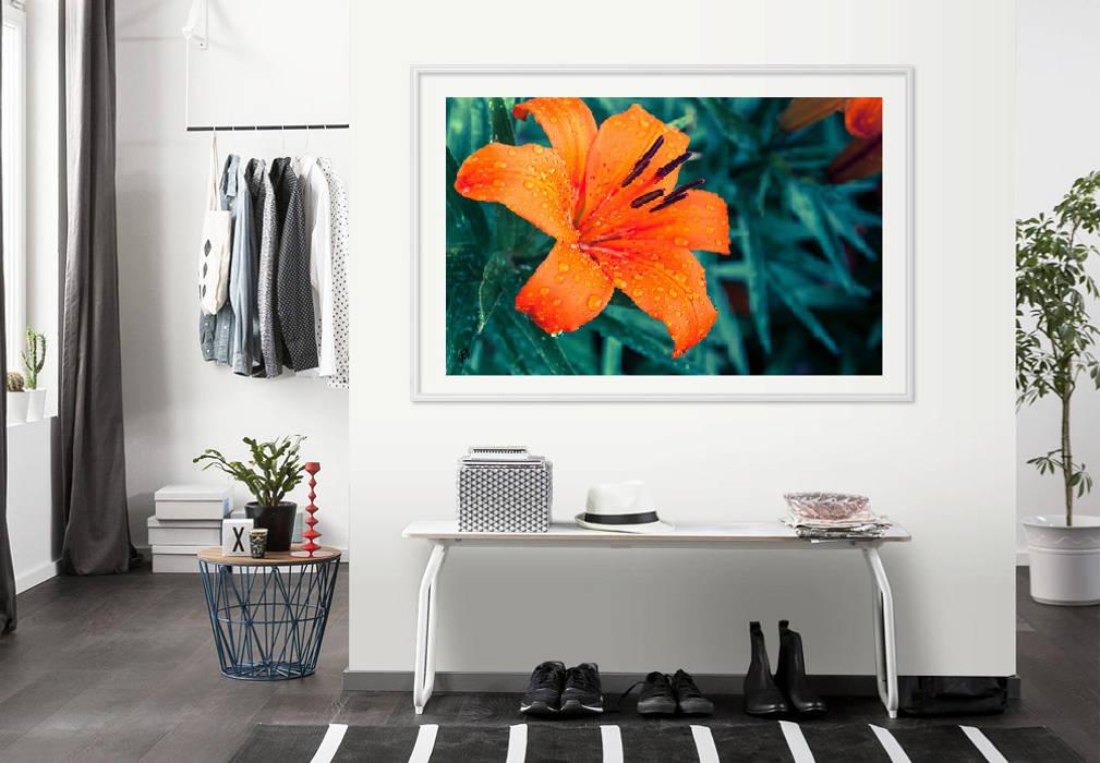 K&L Wall Art Living roomAccessories & decoration Paper Orange