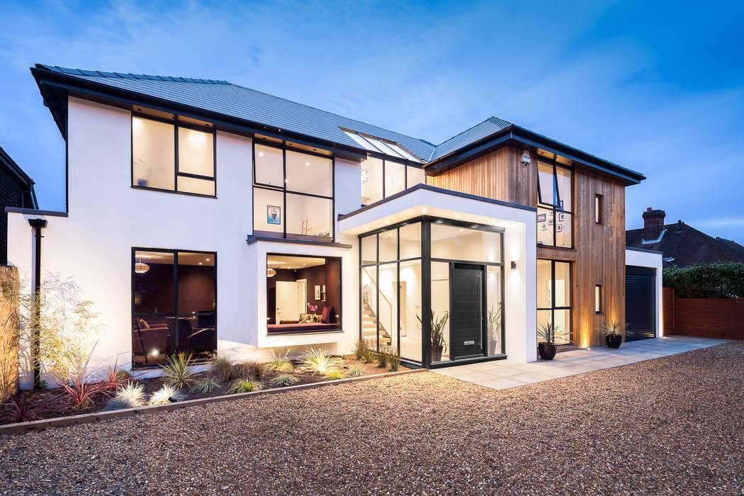 Casas  por Concept Eight Architects, Moderno