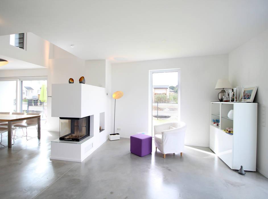 Neubau In Bonn Wohnzimmer Von Planbar Architektur Homify