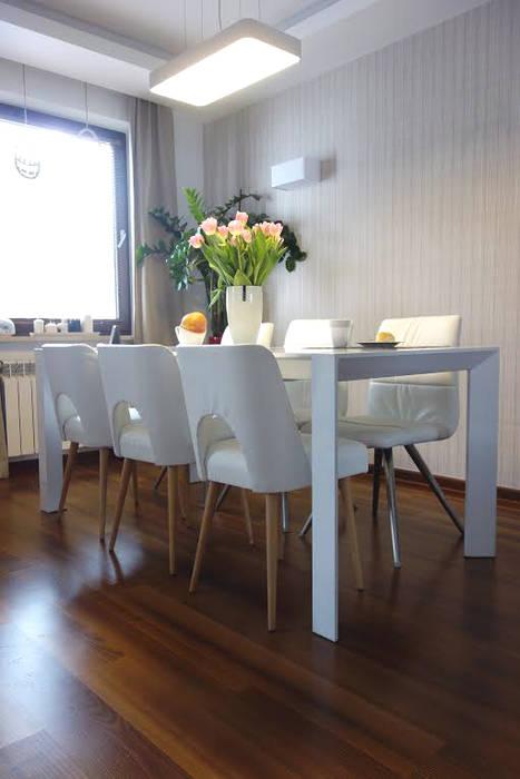 RED design Ruang Makan Gaya Skandinavia