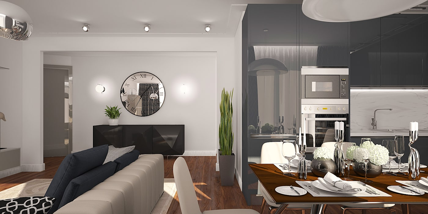 needsomespace Modern Dining Room