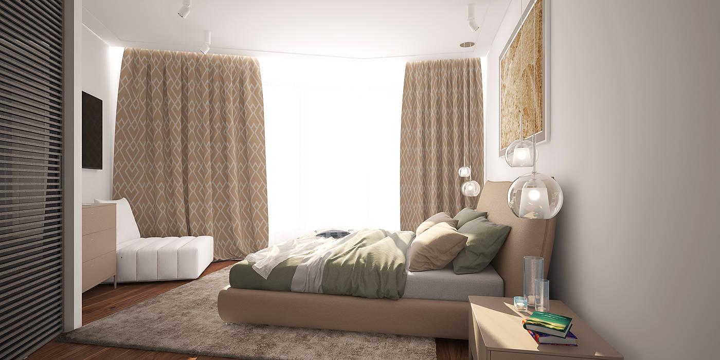 needsomespace Modern Bedroom