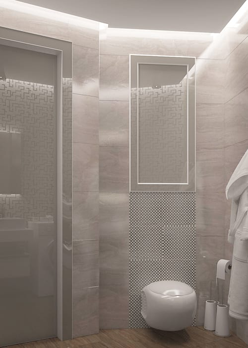 needsomespace Modern Bathroom