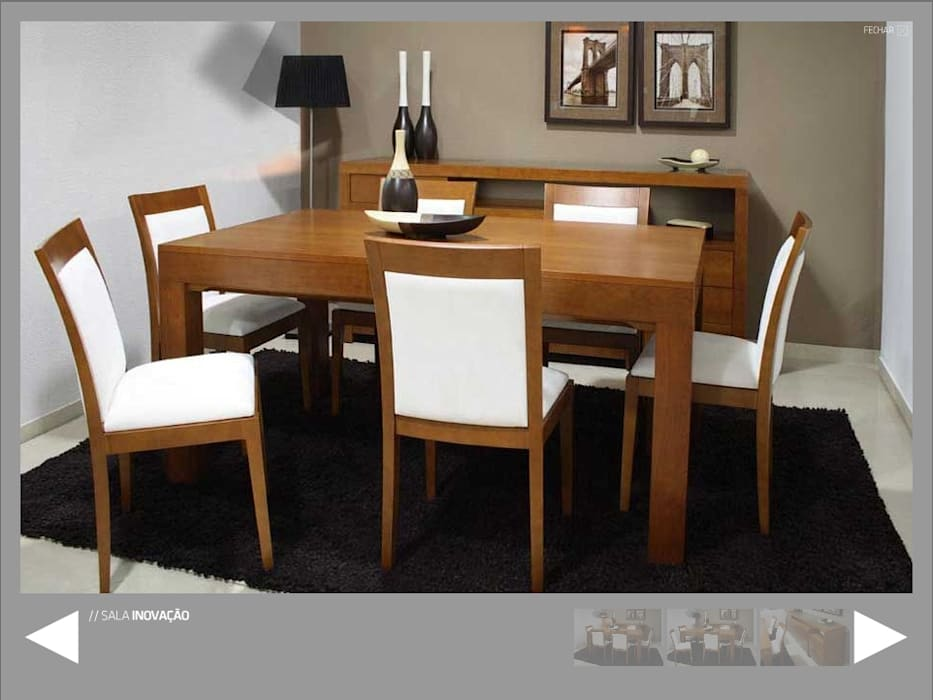 Miguel Andrade Dining roomTables MDF Wood effect