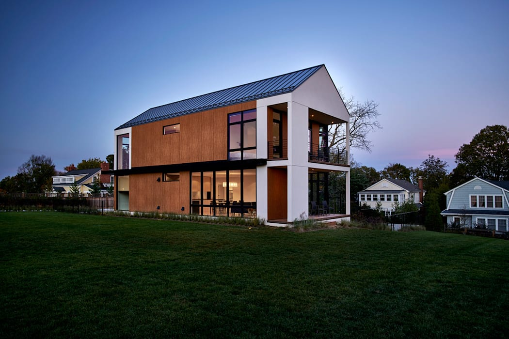 Rosedale Residence Modern Houses by KUBE Architecture Modern