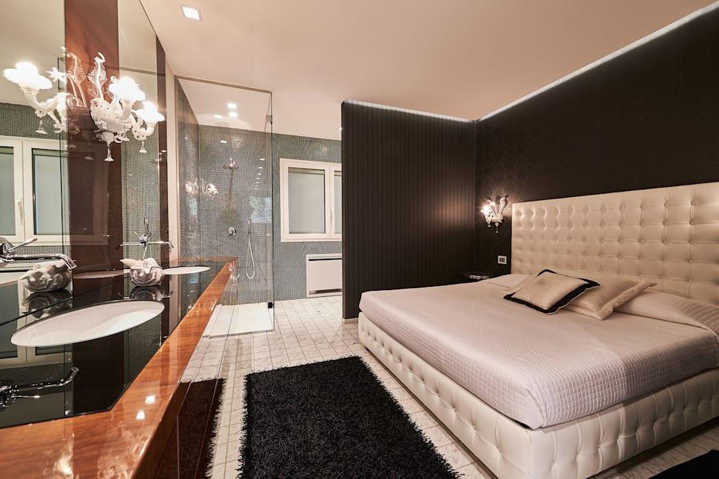 Bedroom by Zeno Pucci+Architects, Modern