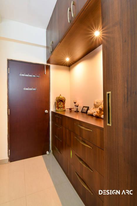 Interior Design Bangalore:  Bedroom by Design Arc Interiors