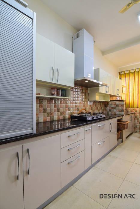Best modular Kitchen bangalore Design Arc Interiors Interior Design Company Classic style kitchen Plywood Beige