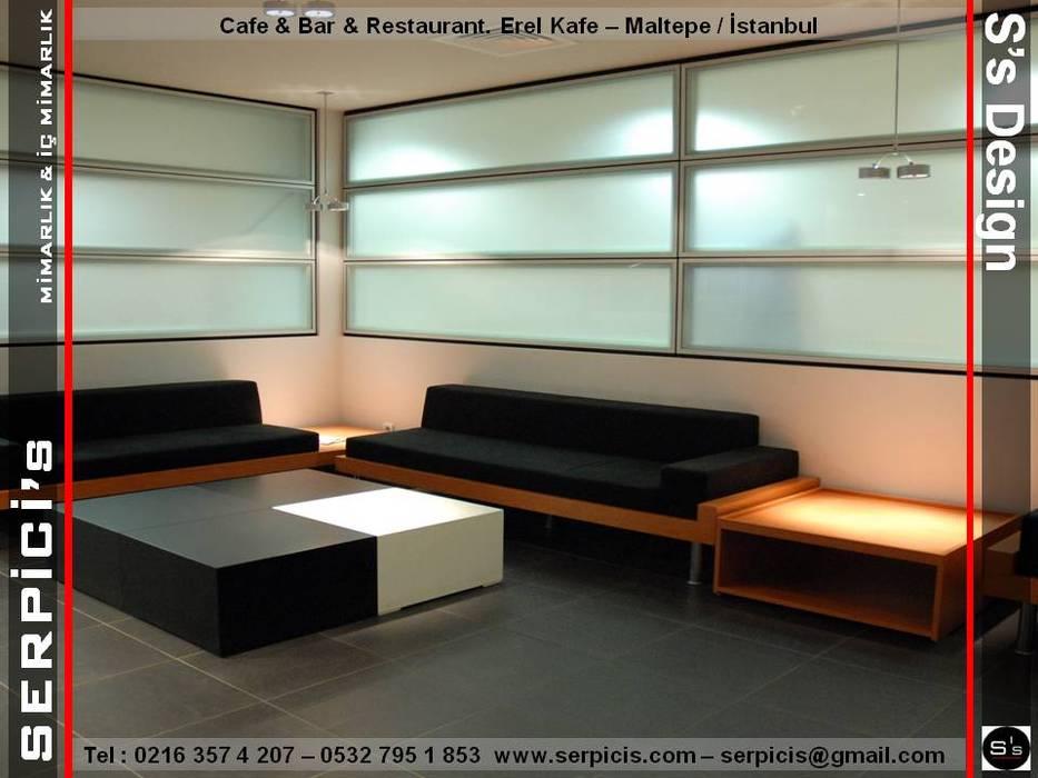 by SERPİCİ's Mimarlık ve İç Mimarlık Architecture and INTERIOR DESIGN Modern Sandstone