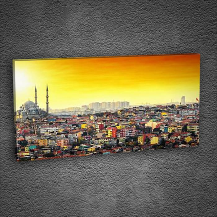 İstanbul Manzara Tablo Tabloda Walls & flooringWall & floor coverings