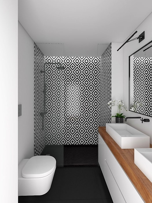 Modern style bathrooms by EU LISBOA Modern