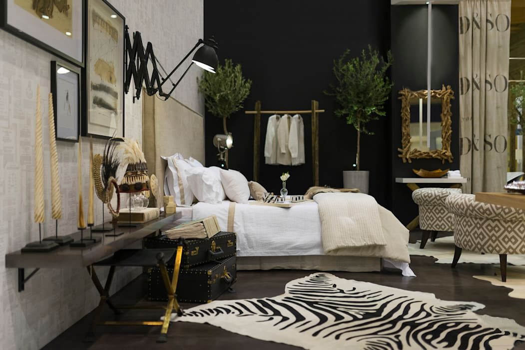 O conforto do quarto Quartos modernos por Margarida Bugarim Interiores Moderno