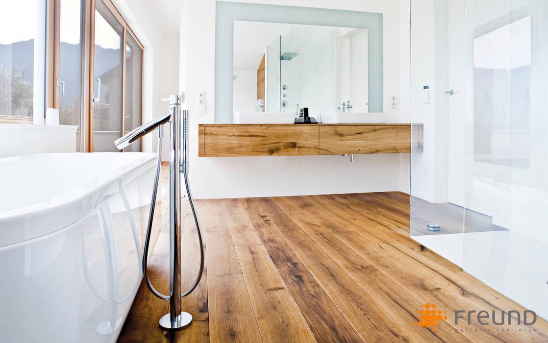 Fußboden Aus Altholz ~ Altholz fußboden badezimmer von freund gmbh homify