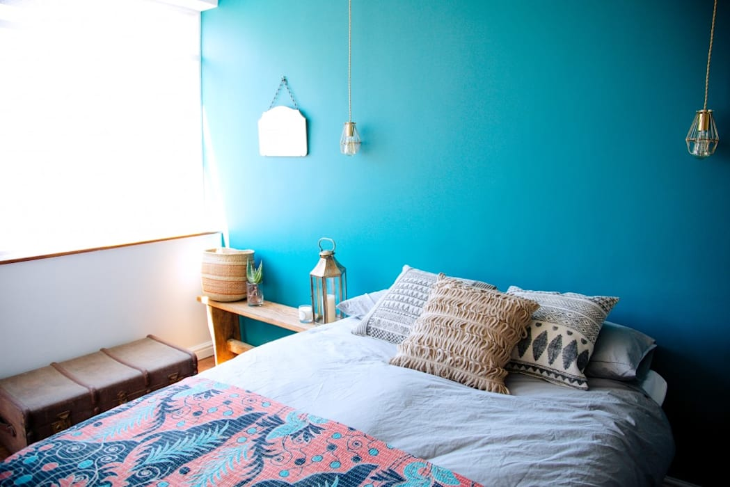 LITTLE MS DYNAMITE AND THE URBAN GEM Eclectic style bedroom by homify Eclectic