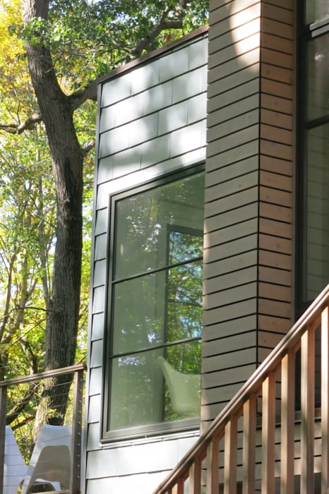 exterior detail:  Houses by JMKA architects