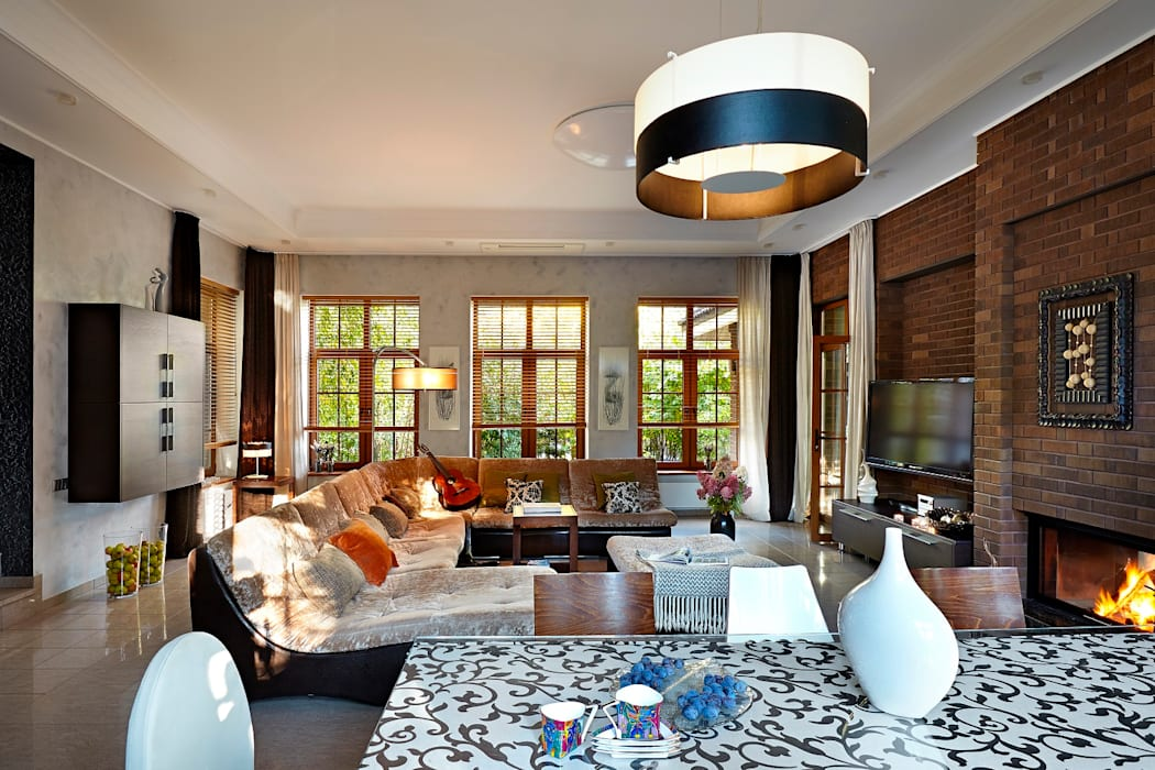 Salon moderne par Irina Derbeneva Moderne
