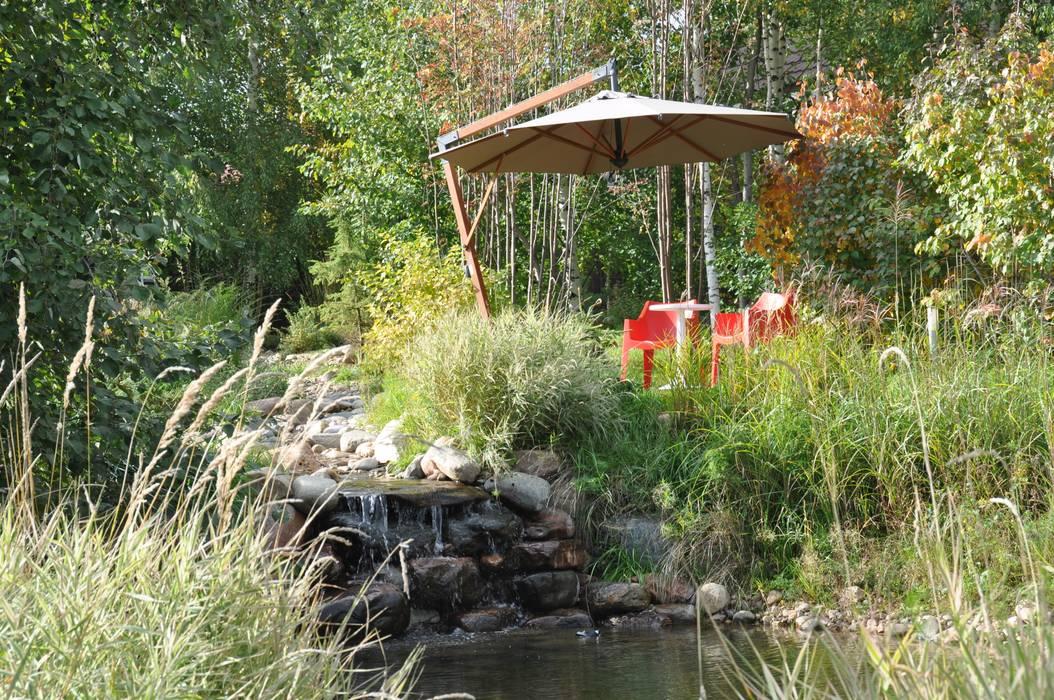Elephant - загородный дом для активного отдыха Сад в стиле модерн от Irina Derbeneva Модерн