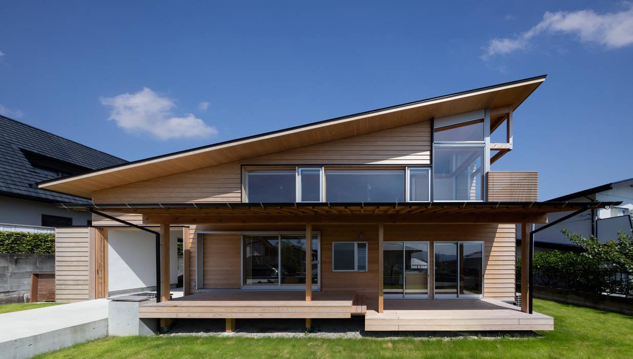 展望台の家 日本家屋・アジアの家 の ろく設計室 和風