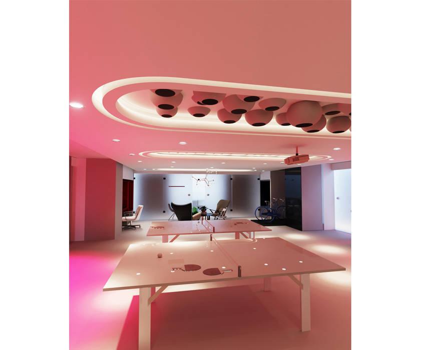 THE HUBs Gizem ONURMEN ARCHITECTS Modern Çalışma Odası