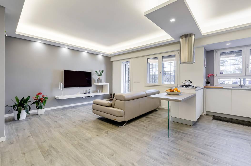 Colleverde_minimal design Soggiorno moderno di EF_Archidesign Moderno