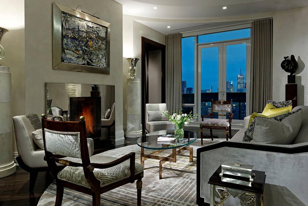 Salas de estar  por Douglas Design Studio, Clássico
