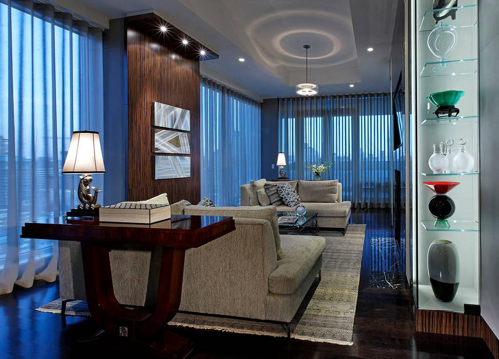Den Douglas Design Studio Living room