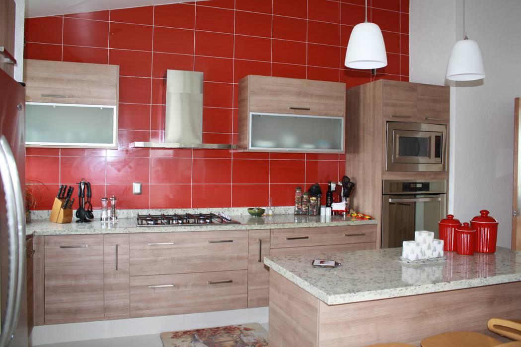 Moderne Küchen von ESTUDIO 5 DISEÑO Y DECORACIÓN Modern