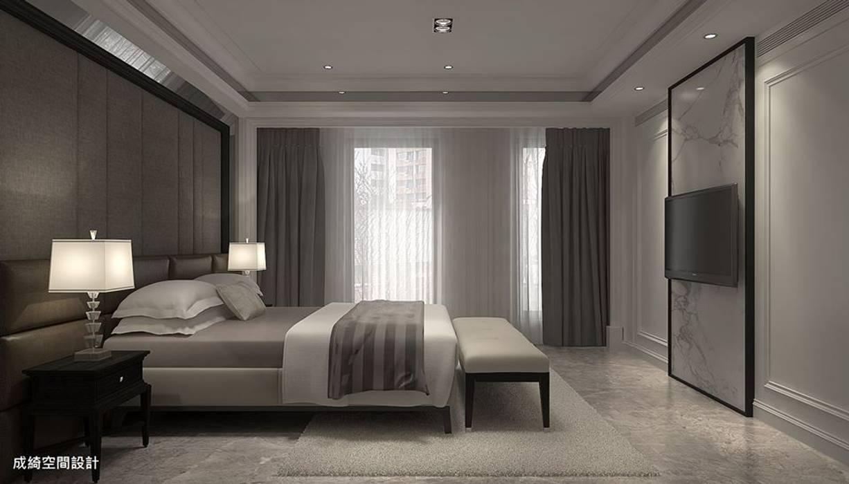 成綺空間設計 Dormitorios de estilo clásico