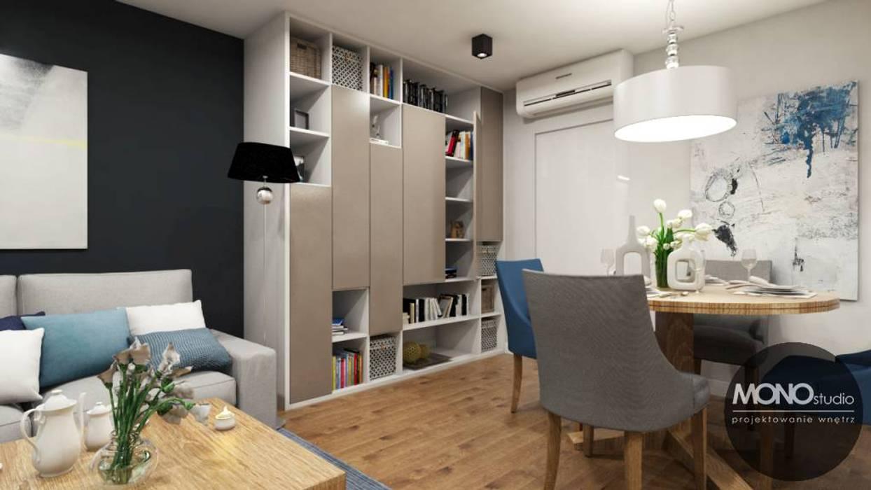 Phòng khách phong cách chiết trung bởi MONOstudio Chiết trung