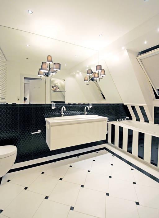 Salle de bains de style  par we do design.pl