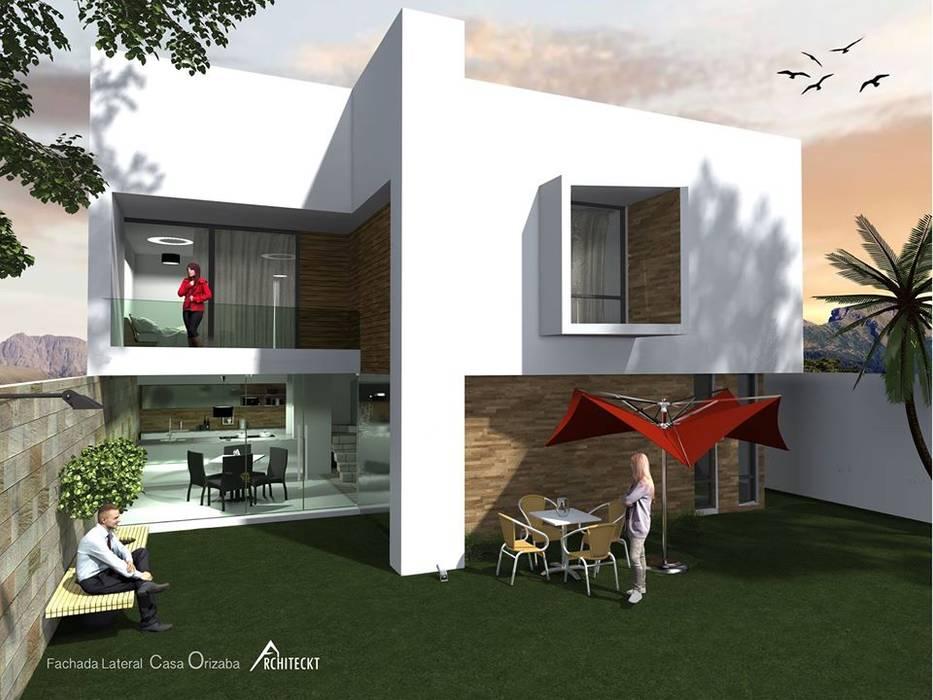Diseño: Casas de estilo  por ARCHITECKT,