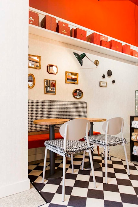 DuMonde Chocolaterie - SHI Studio Interior Design Lojas e Espaços comerciais rústicos por ShiStudio Interior Design Rústico