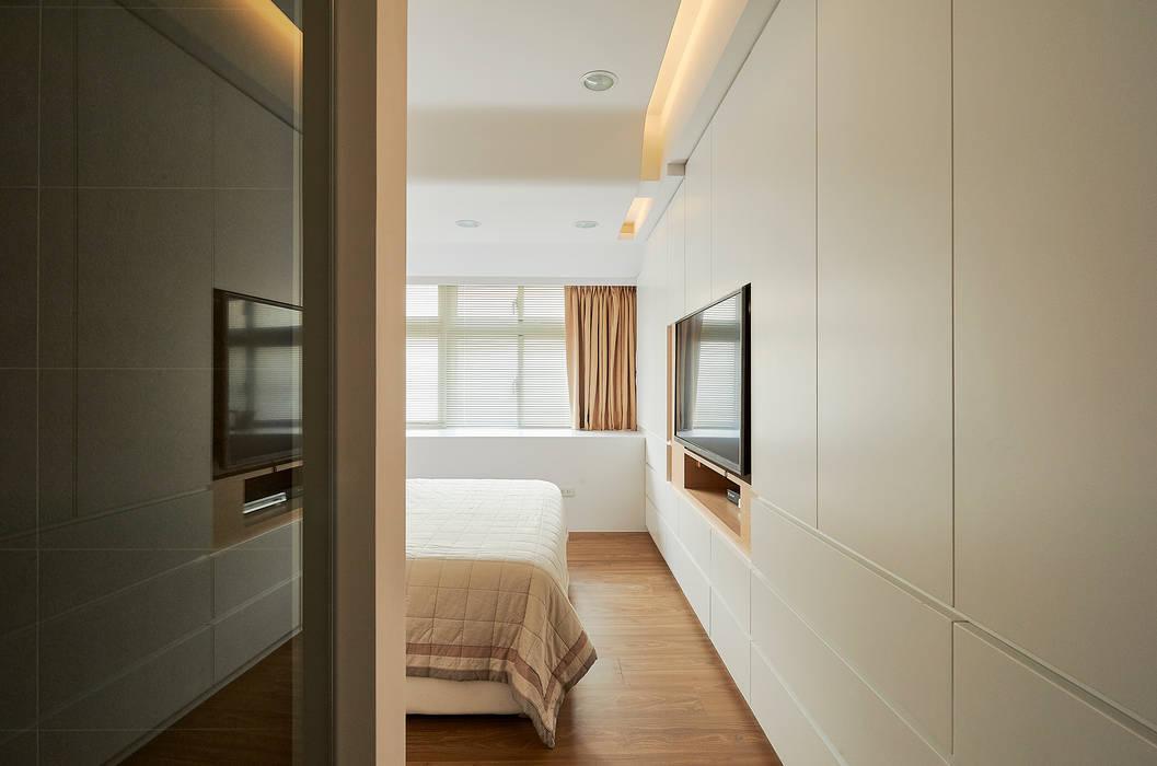 局部間接照明提供柔暖氛圍(圖:  臥室 by 青瓷設計工程有限公司