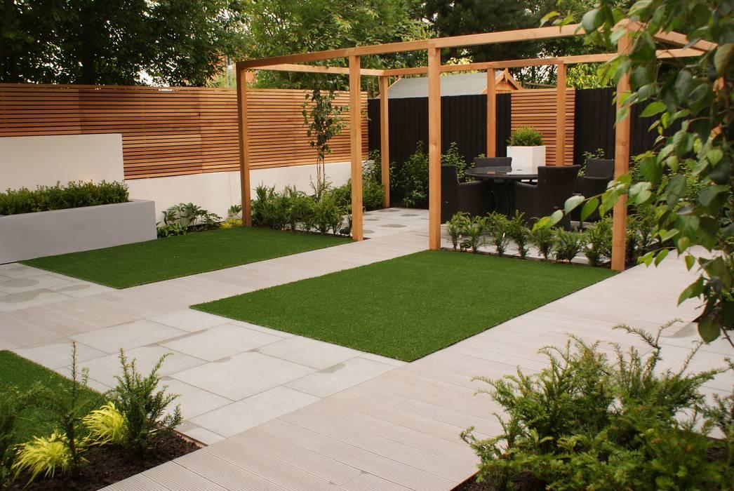 Garden design didsbury modern garden by hannah collins ...