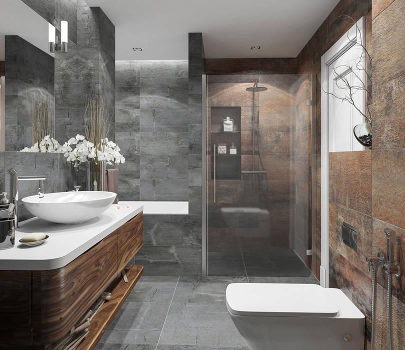 Salle de bain scandinave par OM DESIGN Scandinave